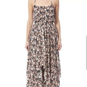 Bishop and Young waterfall floral print dress Sz L